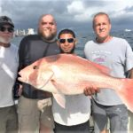 Boat record red snapper caught